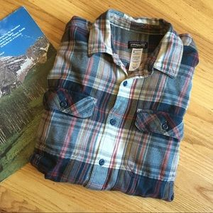 Patagonia long-sleeves fjord flannel shirt